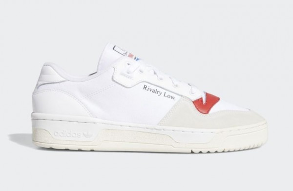 Adidas Rivalry Low EF6418 Blanche