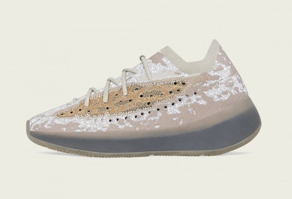 """Adidas Yeezy Boost 380 """"Pepper Reflective"""" FZ4977 Grise"""