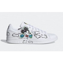 Kasing Lung x Mickey Mouse x Adidas Stan Smith GZ8841 Blanche