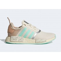"""Star Wars x Adidas NMD R1 """"The Child"""" GZ2758 Blanche/Grise"""