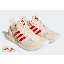"""Adidas Ultra Boost 1.0 """"Indiana"""" FY5807 Blanche/Rouge"""