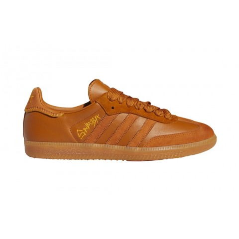 "Jonah Hill x Adidas Samba ""Tech Copper"" FX1471 Orange"