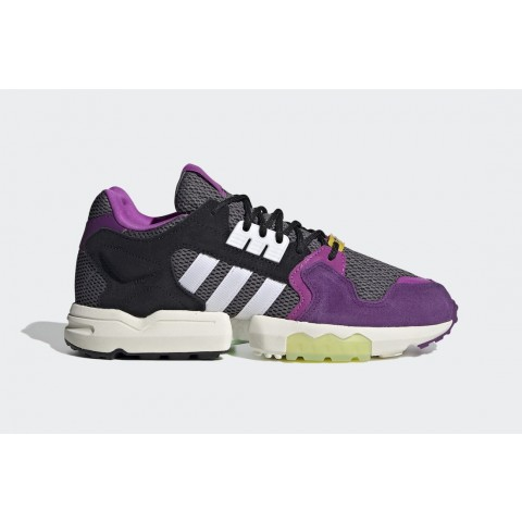 """Ninja x Adidas ZX Torsion """"Time In"""" FW9831 Grise/Violet"""