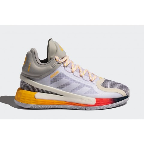 Adidas D Rose 11 FW8508 Blanche/Grise
