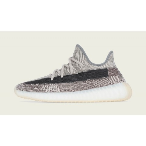 """Adidas Yeezy Boost 350 V2 """"Zyon"""" FZ1267 Blanche/Grise"""