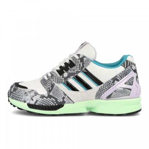 """Adidas ZX 8000 """"Lethal Nights Pack"""" FW2152 Blanche/Grise"""